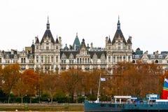 皇家Horseguards旅馆的外部在伦敦 库存图片