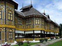 皇家kangsar瓜拉的博物馆 图库摄影