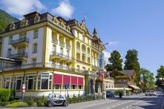 皇家St乔治旅馆在烟特勒根 图库摄影