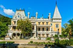 皇帝亚历山大三世Massandra宫殿。 免版税库存图片