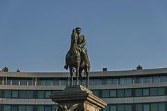 皇帝亚历山大二世国王的Liberator或纪念碑是其中一座最印象深刻的纪念碑在索非亚 库存照片