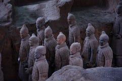 皇帝和他的战士 免版税库存图片