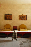 皇帝客厅 库存照片