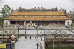 皇帝颜色宫殿越南 免版税库存图片