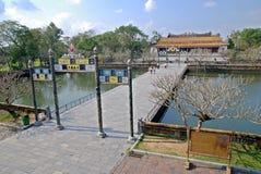 皇帝颜色宫殿越南 库存图片