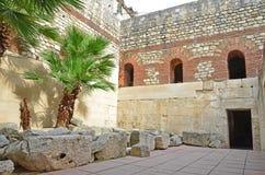皇帝Diocletian& x27; s宫殿 库存图片