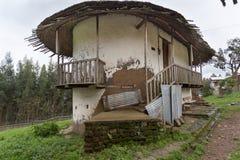 皇帝Menelik的宫殿Elfign 库存照片