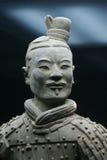 皇帝qin s赤土陶器战士 免版税图库摄影