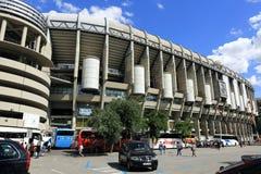 皇马, Estadio圣地亚哥Bernabeu,现代大厦,马德里,西班牙 库存照片