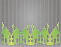 绿皮书房子 免版税库存照片