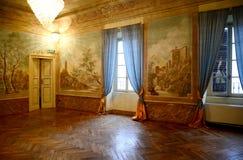 皮亚琴察,意大利- 2016年11月19日:第17个c的内部看法 免版税库存图片