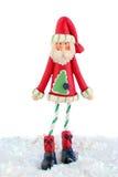 皮包骨头的圣诞老人 免版税图库摄影