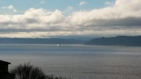 皮吉特湾西雅图 免版税库存图片