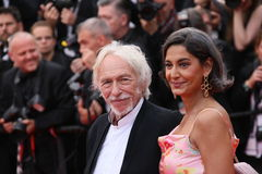 皮埃尔理查和他的妻子 免版税库存图片
