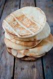 皮塔饼面包 免版税库存图片