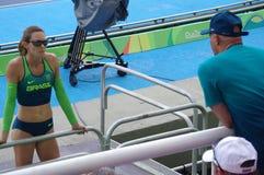 皮契茄属Murer, Rio2016的巴西撑竿跳选手 免版税库存照片