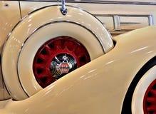 1936年皮尔斯箭头皇家大型高级轿车设计特点 库存图片