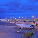 皮尔逊机场。 图库摄影