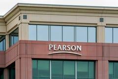 皮尔逊PLC办公楼 免版税库存照片