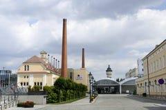 皮尔逊Urquell啤酒厂 免版税库存照片