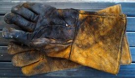 皮手套 免版税库存图片