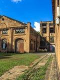 皮拉西卡巴中央糖厂 免版税图库摄影