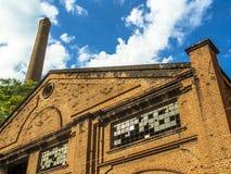 皮拉西卡巴中央糖厂 免版税库存照片