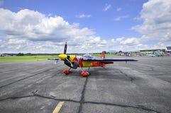 皮特McLeod空中飞机  库存照片
