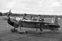 皮特McLeod空中飞机  免版税图库摄影