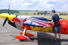 皮特McLeod空中飞机  库存图片