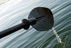 皮船桨 免版税库存照片
