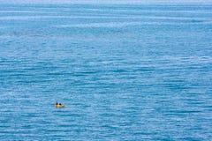 皮船海洋 库存图片