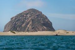 皮艇在莫罗贝在加利福尼亚 免版税图库摄影