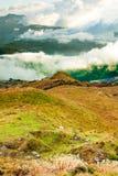 皮钦查火山倾斜 图库摄影