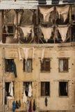 皮革厂在Fes 免版税库存图片