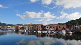 皮革厂-博萨-撒丁岛�意大利 免版税图库摄影