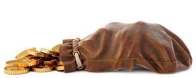 皮革大袋 向量例证