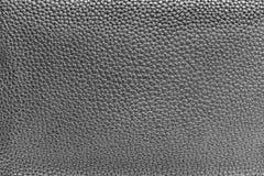 皮革材料银色纹理  免版税库存图片