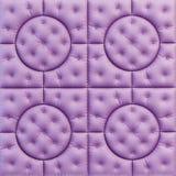 皮革样式紫色 库存图片