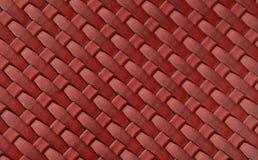 皮革红色 免版税库存图片