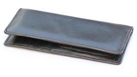 皮革钱包 免版税库存照片