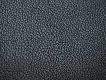 皮革黑色的纹理 与迷离的抽象皮革纹理 库存图片