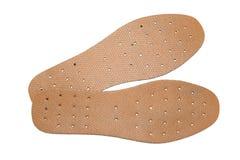 皮鞋的内底鞋子 免版税图库摄影