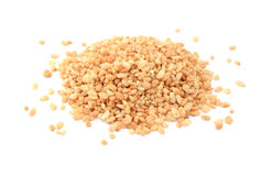 皱波状的米早餐谷物 免版税库存图片