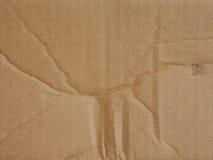 皱纸板背景 免版税库存图片