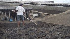 盐产品在巴厘岛 股票录像