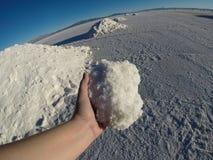盐产品 库存照片