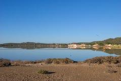 盐卡尔洛福尔泰,撒丁岛意大利 免版税库存图片