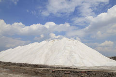 盐厂 免版税库存照片
