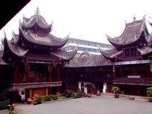 盐历史博物馆自贡四川 免版税库存图片